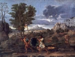 Jesień (Kiść winogron z Ziemi Obiecanej), Nicolas Poussin