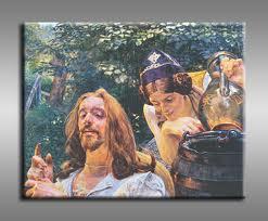 Chrystus i Samarytanka, J. Malczewski