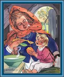 Matka karmiąca dziecko, z. Stryjeńska