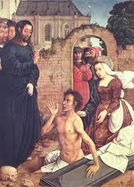 Uzdrowienie Łazarza, J. de Flandes