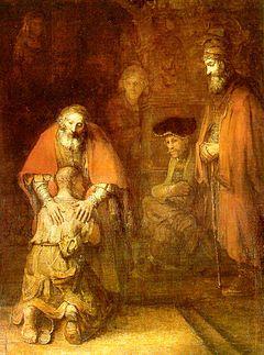 Powrót syna marnotrawnego, Rembrandt van Rijn